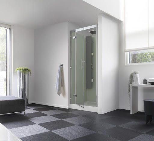 Kinedo Horizon Pivot Door Alcove Shower Cubicle  800 x 800mm