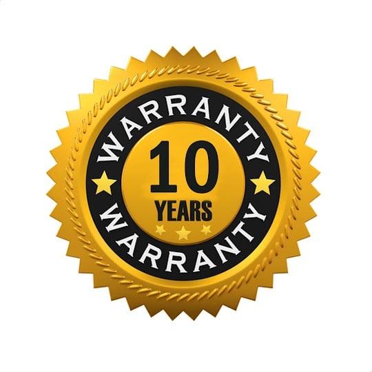 Aurora 10 Year Guarantee