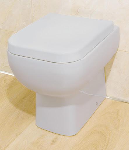 RAK Ceramics Series 600 Back To Wall Toilet & Soft Close Seat - S600BTWPAN/001
