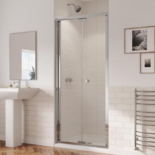Coram Gb 5 760mm Bifold Shower Door 5mm Glass Gb5bf76cuc