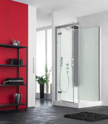 Kinedo Horizon Pivot Door Shower Cubicle 800 x 800mm