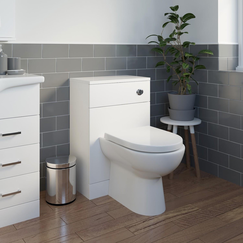 1150mm Toilet and Bathroom Vanity Unit Combined Basin Sink ...