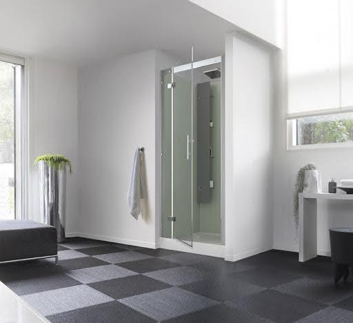Kinedo Horizon Pivot Door Alcove Shower Cubicle  900 x 900mm