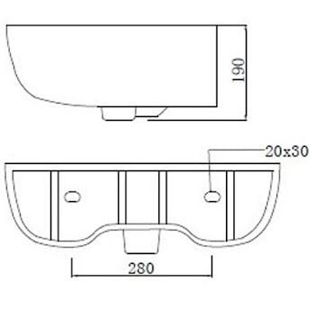 affine-amelie-semi-pedestal-bathroom-sink
