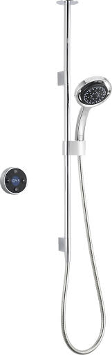 Mira Platinum Thermostatic Digital Shower Concealed (Pumped for Gravity) with Controller 1.1666.002