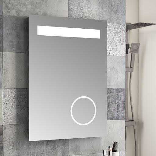 Cassellie Led Illuminated Mirror With Demister Shaving