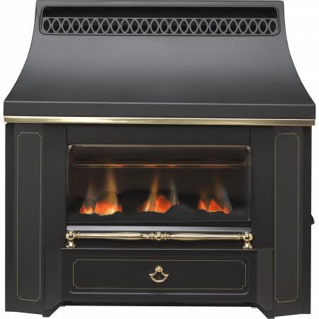 Valor Black Beauty Slimline Outset Oxysafe 2 Manual Control Gas Fire - 0534101