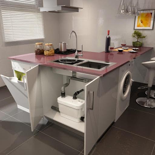 Saniflo Sanivite+ Kitchen and Utility Lifting Station - 6004