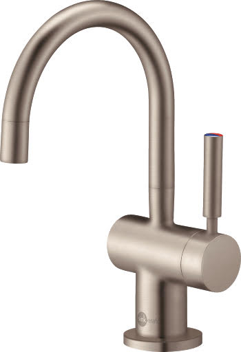InSinkErator HC3300 Boiling Water Tap with NeoTank - Curved Brushed