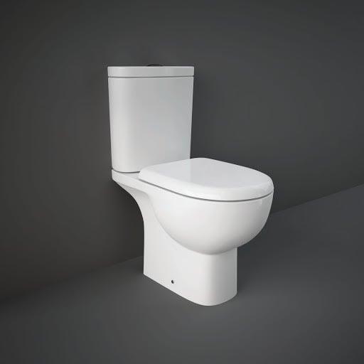 RAK Ceramics Tonique Full Access Close Coupled Toilet & Soft Close Seat - TONPAK