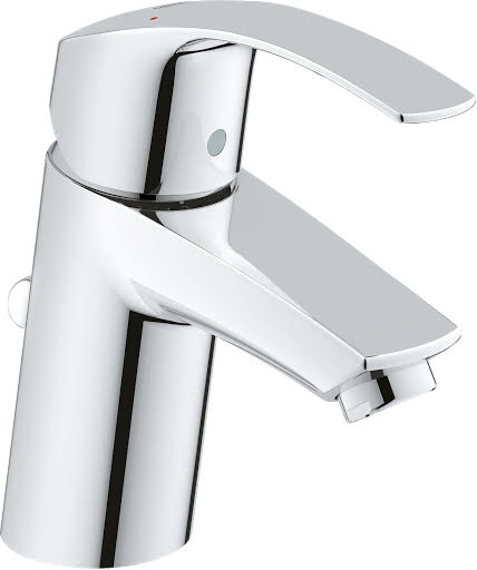 Grohe Eurosmart Basin Mixer Tap with Pop-Up Waste
