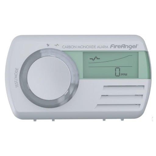 FireAngel Digital Carbon Monoxide Alarm Battery Operated -  CO-9D