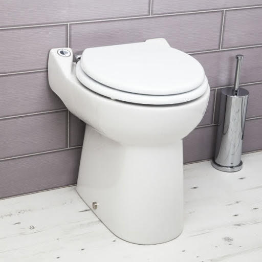 Sanicompact Back To Wall Toilet with Built-in Macerator Pump -1081