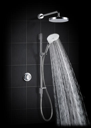 Mira Mode Thermostatic Rear Fed Digital Shower - (Pumped for Gravity) - 1.1874.006